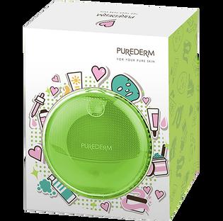 Purederm_silikonowa szczoteczka soniczna do oczyszczania twarzy, 1 szt._4