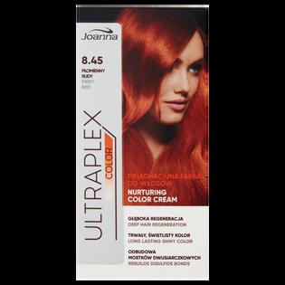 Joanna_Ultraplex Color_farba do włosów 8.45 płomienny rudy, 1 opak.