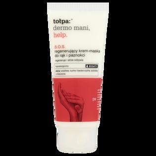 Tołpa_Dermo Mani Help_regenerujący krem maska do rąk i paznokci, 60 ml