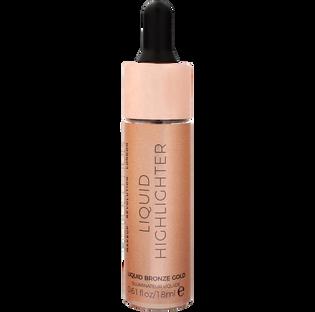 Revolution Makeup_Bronze Gold_rozświetlacz w płynie do twarzy bronze gold, 18 ml