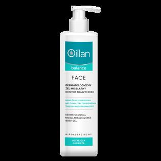 Oillan_Balance_dermatologiczny żel micelarny do mycia twarzy, 250 ml