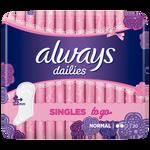 Always Dailies Singles To Go