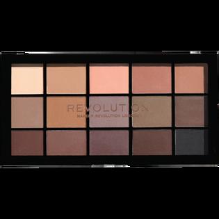 Revolution Makeup_Basic Mat_paleta cieni do powiek basic matt, 16 g