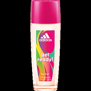 Adidas_Get Ready_dezodorant damski w atomizerze, 75 ml