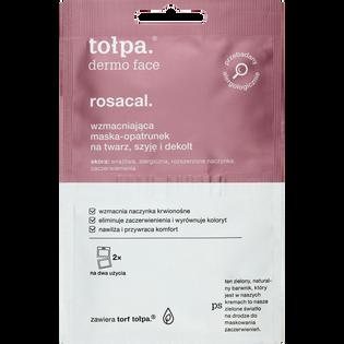 Tołpa_Dermo Face Rosacal_wzmacniająca maska-opatrunek na twarz, szyję i dekolt, 2x6 ml/1 opak.