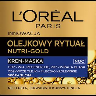 L'Oréal Paris_Nutri-Gold_odżywczo-re generujący krem maska z olejkami na noc, 50 ml