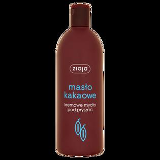 Ziaja_Masło Kakaowe_mydło kremowe pod prysznic, 500 ml