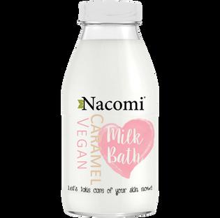 Nacomi_Caramel Vegan_mleko do kąpieli o zapachu karmelu, 300 ml