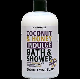 Creightons_Kokos & Miód_żel pod prysznic i do kąpieli, 500 ml