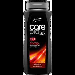 Luksja_Care Pro Men Energy_energetyzujący żel pod prysznic dla mężczyzny, 500 ml