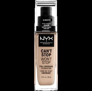 Nyx_Can't Stop Won't Stop_podkład do twarzy alabaster, 30 ml_1