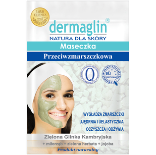 Dermaglin_przeciwzmarszczkowa maseczka do twarzy, 20 g