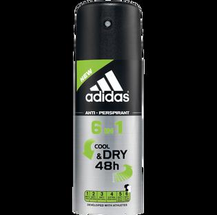 Adidas_6 in 1_dezodorant w sprayu męski, 150 ml