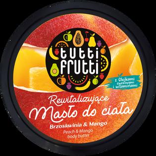 Tutti Frutti_Brzoskwinia & Mango_rewitalizujące masło do ciała, 200 ml_1