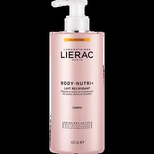 Lierac_Body-Nutri+_mleczko natłuszczająco kojące przeciw przesuszeniom do ciała, 400 ml