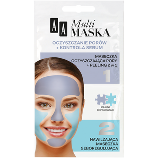 AA_Multimaska_maseczka do twarzy, 2x5 ml/ 1 opak.