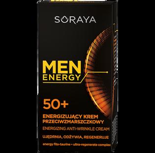 Soraya_Men Energy_energizujący krem przeciwzmarszczkowy do twarzy 50+ męski, 50 ml_2