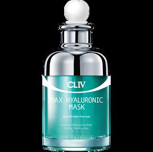 Cliv_intensywnie nawilżająca przeciwzmarszczkowa maska w płachcie do twarzy, 25 g