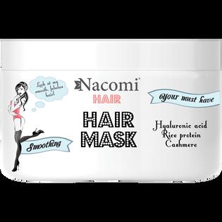 Nacomi_Hair_wygładzająco-nawilżająca maska do włosów, 200 ml