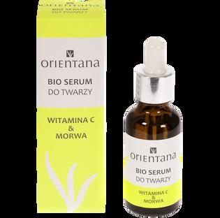 Orientana_Bio_serum do twarzy z witaminą C i morwą, 30 ml