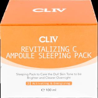 Cliv_rewitalizująca maska-ampułka w kremie z witaminą C na noc, 100 ml_2