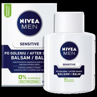 Nivea Men_Sensitive_łagodzący balsam po goleniu, 100 ml