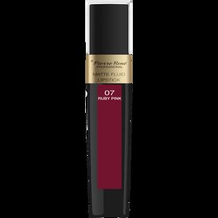 Pierre Rene_Matte Fluid Lipstick_pomadka w płynie do ust 07, 6 ml