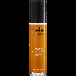 Hebe Professional_płyn do czyszczenia pędzli z włosia syntetycznego i naturalnego bez użycia wody, 150 ml