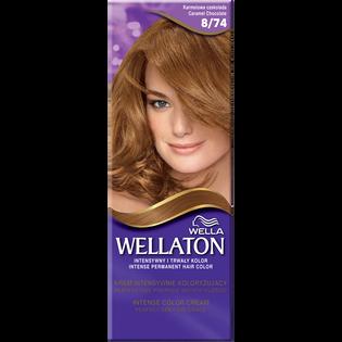 Wella_Wellaton_krem koloryzujący 8/74 karmelowa czekolada, 1 opak.