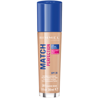 Rimmel_Match Perfection_podkład do twarzy classic beige 201 SPF20, 30 ml_1