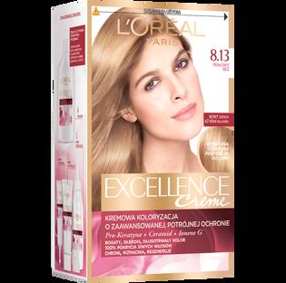 L'Oréal Paris_Excellence Creme_farba do włosów 8.13 perłowy beż, 1 opak.