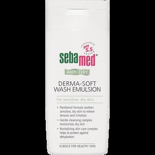 Sebamed_Derma-Soft_emulsja do mycia twarzy i ciała, 200 ml