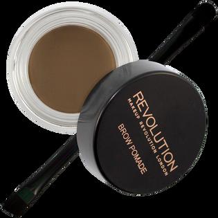 Revolution Makeup_Brow Pomade_pomada do stylizacji brwi medium brown, 8 g_2