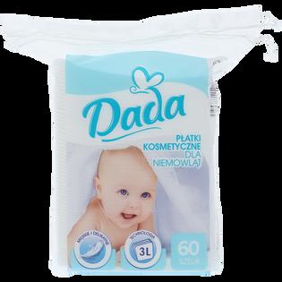 Dada_płatki kosmetyczne dla niemowląt, 60 szt./ 1 opak.