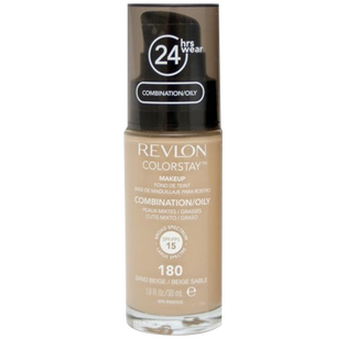 Revlon_Colorstay_podkład z pompką do cery tłustej i mieszanej sand beige 180, 30 ml