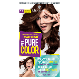 Schwarzkopf_Pure Color_farba do włosów 5.6 czekoladowa pralina, 1 opak.