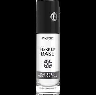 Ingrid_Mattifying Anti-Pollution_baza beztłuszczowa matująca w płynie pod makijaż, 30 ml
