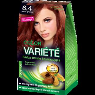 Color Variete_Owoc granatu_farba do włosów 6.4 owoc granatu, 1 opak.