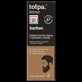 Tołpa_Dermo Barber_balsam-żel do twarzy z zarostem i brodą, 75 ml