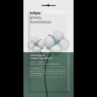 Tołpa_Green_nawilżająca maska łagodząca do twarzy, 8 ml