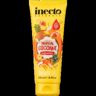 Inecto_Tropical Coconut_żel pod prysznic, 250 ml