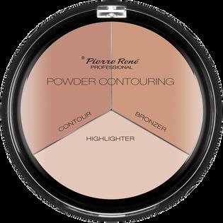 Pierre Rene_Powder Contouring_pudrowa paleta cieni do konturowania, 23 g