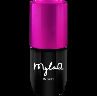 Mylaq_My Top Dry_hybrydowy top do paznokci, 5 ml
