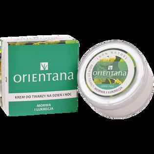 Orientana_Morwa i lukrecja_krem do twarzy z morwy i lukrecji na dzień i na noc, 50 g