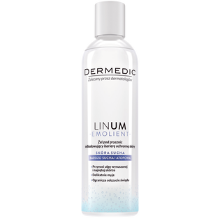 Dermedic_Linum Emolient_żel pod prysznic, 200 ml