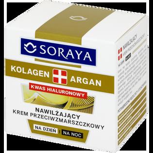 Soraya_Kolagen + Argan_krem do twarzy nawilżający i przeciwzmarszczkowy na dzień i na noc, 50 ml_2
