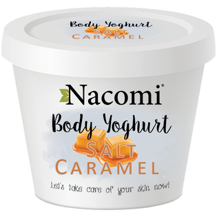 Nacomi_Salt Caramel_jogurt do ciała o zapachu karmelu, 180 ml