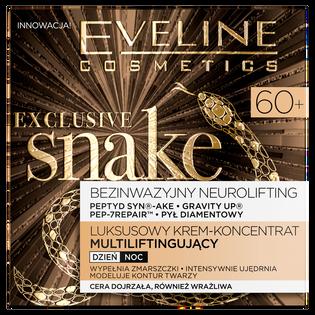 Eveline_Exclusive Snake_luksusowy krem-koncentrat do twarzy multiliftingujący na dzień i noc 60+, 50 ml_2