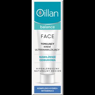 Oillan_Balance_tonujący krem nawilżający do twarzy, 40 ml