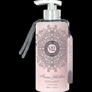 Vivian Gray_Aroma Selection Lotus & Rose_kremowe mydło w płynie, 400 ml